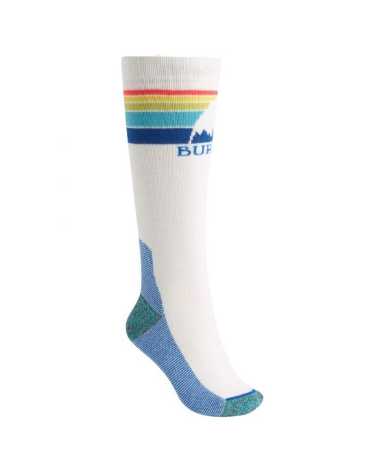 EMBLEM MIDWEIGHT SOCK W WHITE