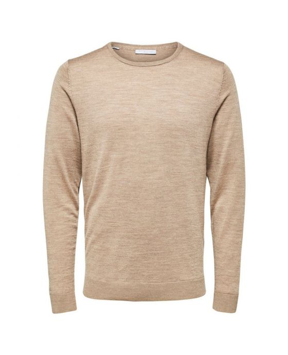 SELECTED SLHTOWER MERINO CREW NECK