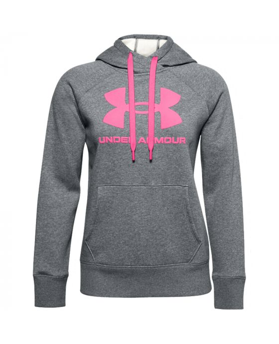 UNDER ARMOUR RIVAL FLEECE LOGO DA DONNA