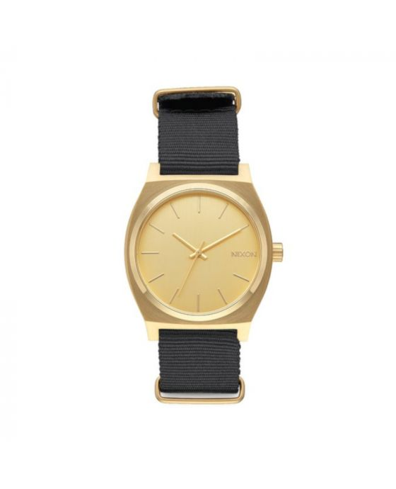 NIXON TIME TELLER GOLD & BLACK