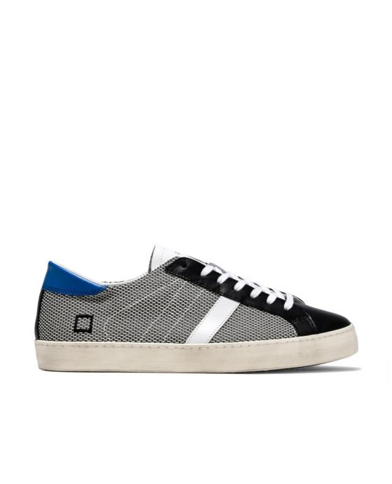 D.A.T.E. HILL LOW ARGEGNO WHITE-BLACK
