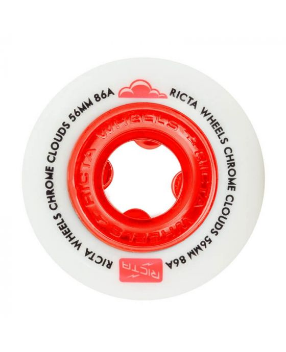 56 MM CHROME CLOUDS RED 86A