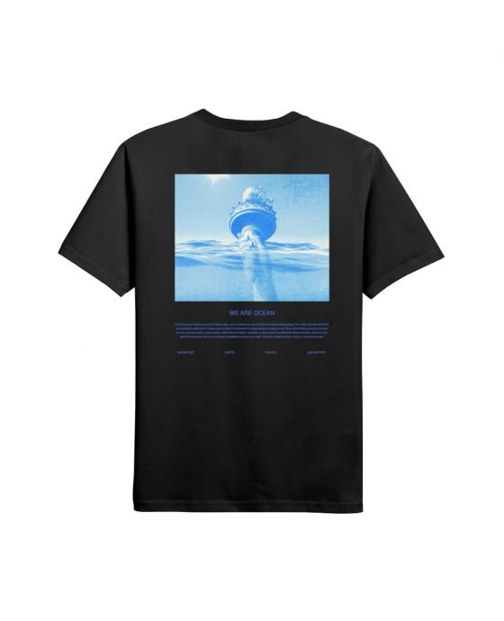 T-SHIRT WE ARE OCEAN RED