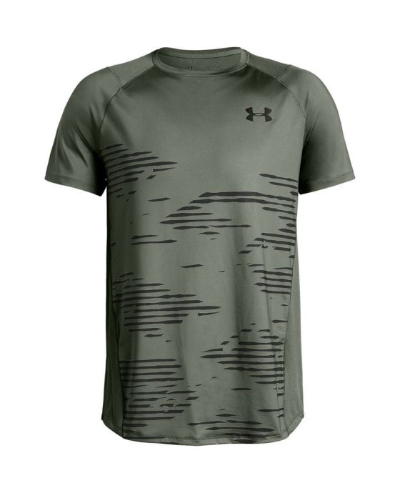 UNDER ARMOUR MK1 SS CAMO LEFT CHEST