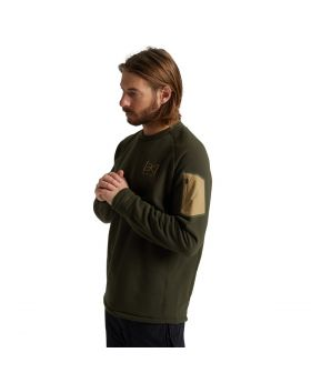 [AK] BAKER POWER STRETCH FLEECE CREW