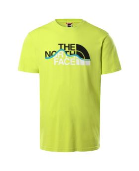 NORTH FACE SS MOUNTAIN LINE TEE