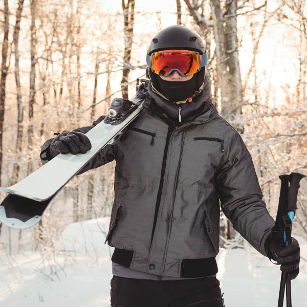 Categoria abbigliamento da sci